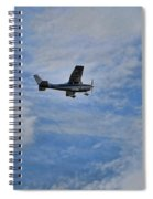 Cessna In Flight Spiral Notebook