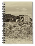 Chaffee County Poor Farm Print Spiral Notebook