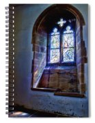 Chagall Window Spiral Notebook