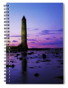 Chaine Memorial Tower, Larne Harbour Spiral Notebook