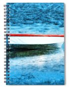Chained By The Tide  Spiral Notebook