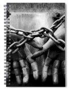 Chains Spiral Notebook