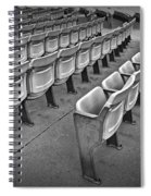 Chair Seating In An Arena With Oak Leaf Spiral Notebook
