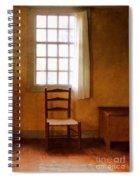 Chair Under Window Spiral Notebook