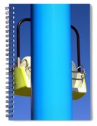 Chairlift Cart Spiral Notebook