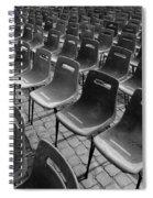 Chairs Spiral Notebook