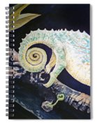Chameleon Tail Spiral Notebook