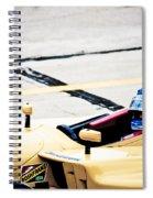 Champ Car Driver Spiral Notebook