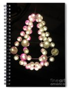 Chandelier From Pearls Spiral Notebook