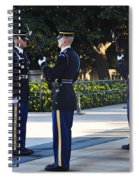 Changing Of The Guards  Spiral Notebook