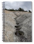 Channel Eroded By Water Spiral Notebook