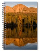 Chaos Crags Reflecting Spiral Notebook