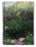 Chaos In Morning Mist Spiral Notebook