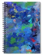 Chaotic Nature Spiral Notebook