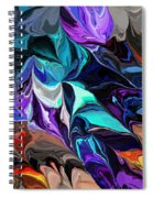 Chaotic Visions Spiral Notebook