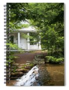 Chapel At Hickory Run State Park Spiral Notebook