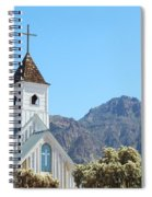 Chapel In Superstitions Spiral Notebook