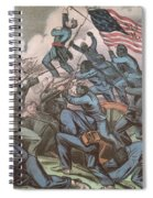 Charge Of The 54th Massachusetts Spiral Notebook