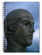 Charioteer Of Delphi Spiral Notebook