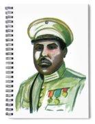 Charles Atangana Spiral Notebook