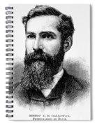 Charles Betts Galloway Spiral Notebook