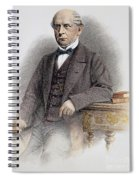 Charles Francis Adams Spiral Notebook