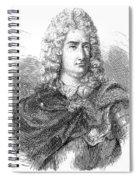 Charles-francois Du Fay Spiral Notebook