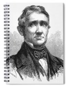 Charles Goodyear /n(1800-1860). American Inventor. Line Engraving, 19th Century Spiral Notebook