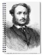 Charles Hanbury-tracy Spiral Notebook