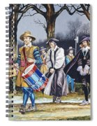 Charles I's Last Walk  Spiral Notebook