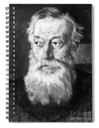 Charles Montagu Doughty (1843-1926). English Poet And Traveler. Pastel, 1921, By Eric Kennington Spiral Notebook