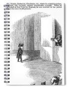Charles Stratton Spiral Notebook