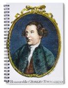 Charles Townshend Spiral Notebook