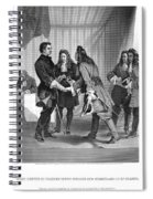 Charles Xii And Stanislas I Spiral Notebook