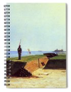 Charleston Battery, 1864 Spiral Notebook