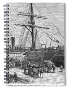 Charleston: Cotton Ship Spiral Notebook