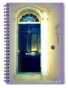 Charleston Door 6 Spiral Notebook