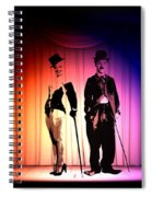 Charlie And Marilyn Spiral Notebook