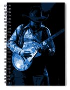 Playing The Blues At Winterland In 1975 Spiral Notebook