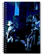 Winterland Blues 1975 Spiral Notebook