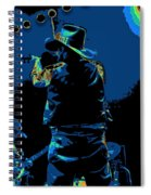Winterland Cosmic Fiddler Spiral Notebook