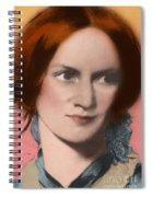 Charlotte Bronte, English Author Spiral Notebook