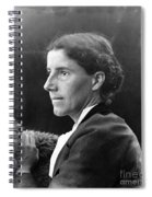 Charlotte Perkins Gilman Spiral Notebook