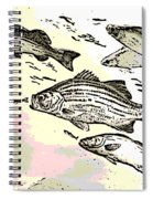 Chasing Lunch Spiral Notebook