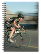 Chasing The Pack Spiral Notebook