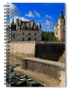 Chateau Chenonceau Loire Valley Spiral Notebook