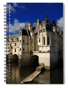 Chateau Chenonceau Spiral Notebook