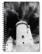 Chateau De Blandy Les Tours Spiral Notebook