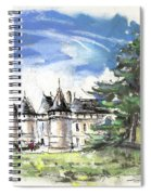 Chateau De Chaumont In France Spiral Notebook