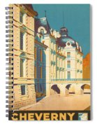 Chateau De Cheverny Spiral Notebook